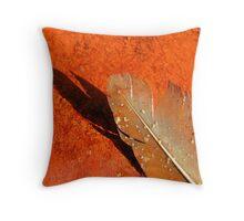 Oxidised Feather - Seaside Throw Pillow
