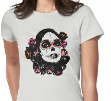 Day of the dead #2 Womens Fitted T-Shirt