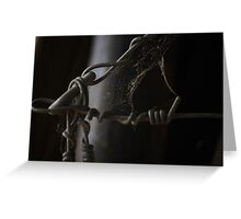 wire web Greeting Card