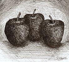 Apples by Debbie  Adams
