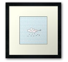 Rain cloud Framed Print