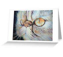 Feline reflections Greeting Card