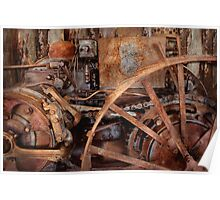 Steampunk - Machine - The industrial age Poster