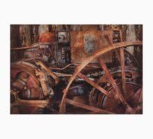 Steampunk - Machine - The industrial age Kids Tee