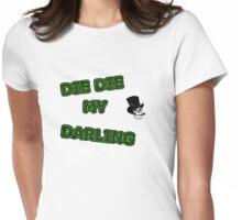 Die, Die Misfits inspired tee Womens Fitted T-Shirt