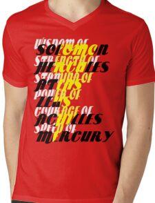 Shazam! Mens V-Neck T-Shirt