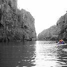 Canoeing Katherine Gorge - Darwin by Honor Kyne