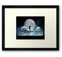 Giddy by Moonlight Framed Print