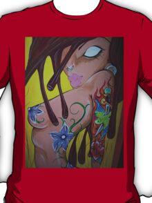 Ink monkey girl - sexy, tattooed, hardcore T-Shirt