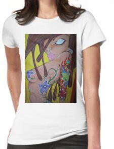Ink monkey girl - sexy, tattooed, hardcore Womens Fitted T-Shirt