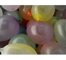 Water Balloons Photographic Print