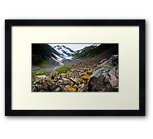 Byron Glacier Framed Print