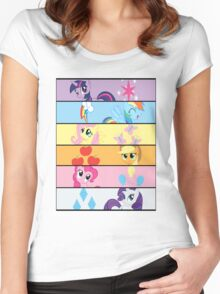 6 Mane LRG Women's Fitted Scoop T-Shirt