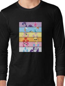 6 Mane MED Long Sleeve T-Shirt