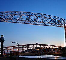 Aerial Lift Bridge by Ljartdesigns