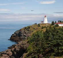 Swallowtail Lighthouse - Grand Manan, New Brunswick by Stephen Stephen