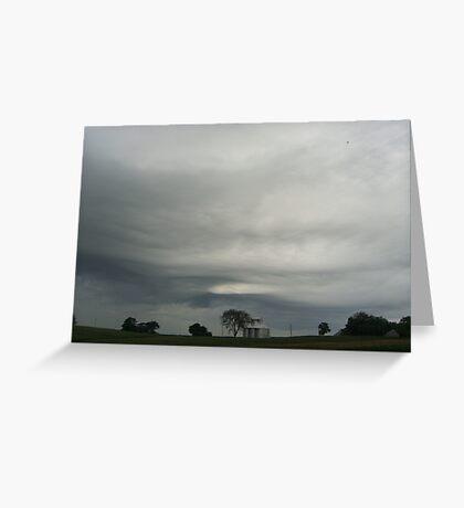Nebraska Sky Greeting Card