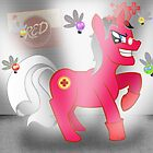 Ze Überpony (RED version) by SarahBelham