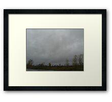 Becker Road Bridge, Merritt Township MI Framed Print