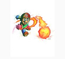 """""""Flower Power"""". Mario from the videogame Super Mario Bros by Nintendo. T-Shirt"""
