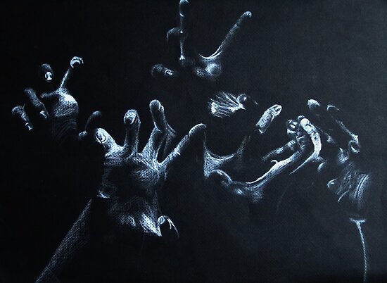 Hands by Tess Lowe