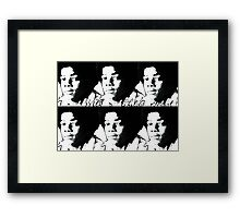 With a Childs Heart Framed Print