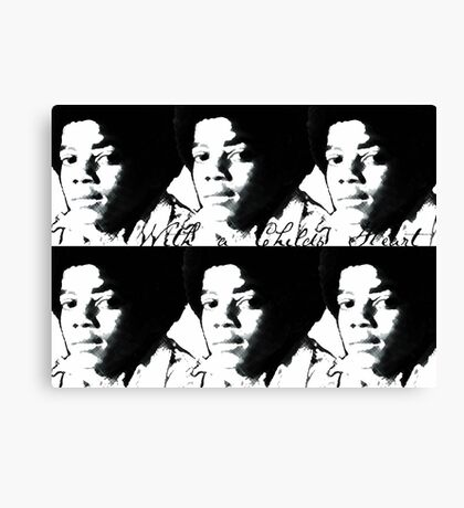 With a Childs Heart Canvas Print