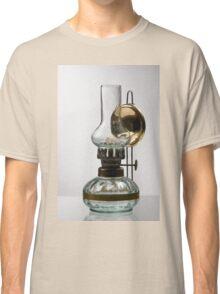 retro style glass decorative oil lamp Classic T-Shirt