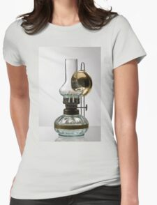 retro style glass decorative oil lamp T-Shirt