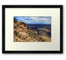 P'Osoge - The Beauty of the Rio Grande Del Norte National Monument Framed Print
