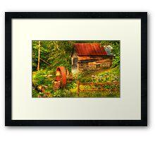 Summer Mill Framed Print