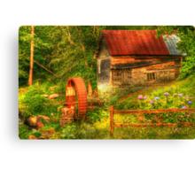 Summer Mill Canvas Print
