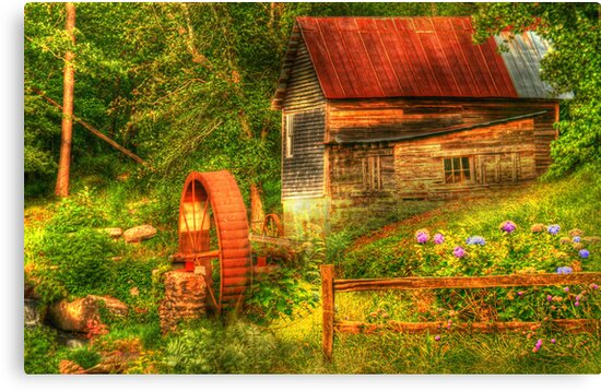 Summer Mill by Chelei