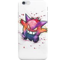"""""""King of Ghosts"""". Pokemon """"Gengar"""" from the videogame Pokémon by Nintendo.  iPhone Case/Skin"""
