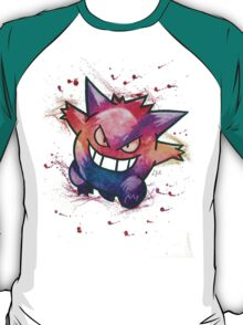"""""""King of Ghosts"""". Pokemon """"Gengar"""" from the videogame Pokémon by Nintendo.  T-Shirt"""