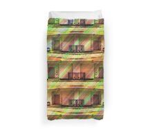 A Very Dull Building Duvet Duvet Cover