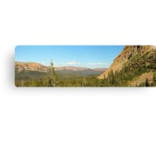 Uintah Mountains, Mirror Lake Highway Canvas Print