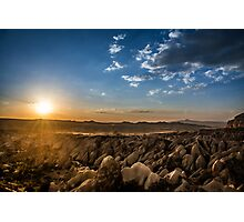 Stunning Sunset view of Cappadocia  Photographic Print