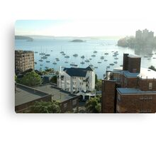 elizabeth bay Canvas Print