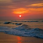 Sunrise at the Beach by Kevin Stauss