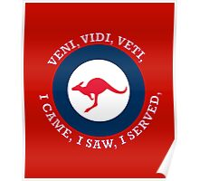 Royal Australian Air Force VVV Roundel  Poster