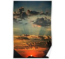 Epic Sunset Poster