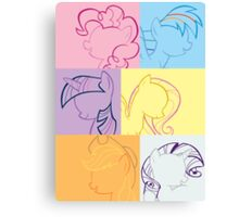 6 Main_squares 3 poster/card/print Canvas Print