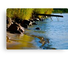 Summer at the Lake Canvas Print