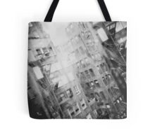 New York Double Exposure Tote Bag