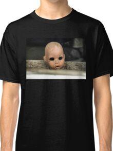 Save Me Steam Punk Doll Head Classic T-Shirt