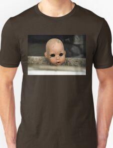 Save Me Steam Punk Doll Head Unisex T-Shirt