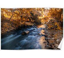 Autumn in Ihlara Valley Poster