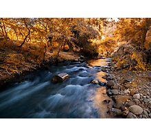 Autumn in Ihlara Valley Photographic Print