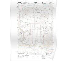 USGS Topo Map Oregon Opal City 20110829 TM Poster